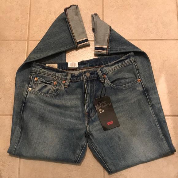 b2f91c4b Levi's Jeans | Levis Premium 511 Slim Fit Selvedge | Poshmark